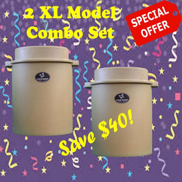 XL Feeder Combo Set